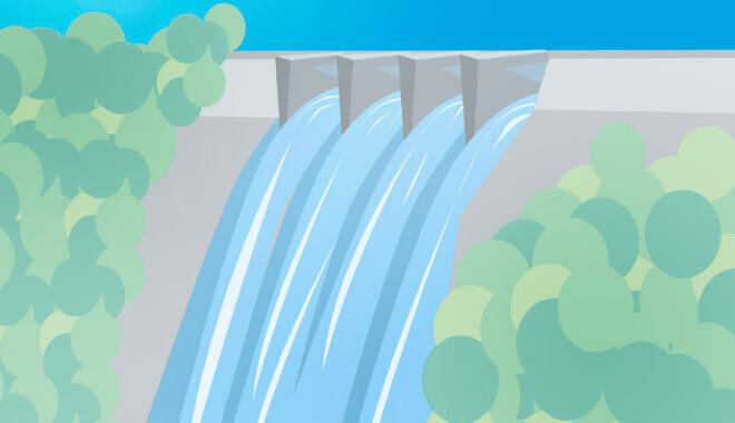 ダム貯水量曲線