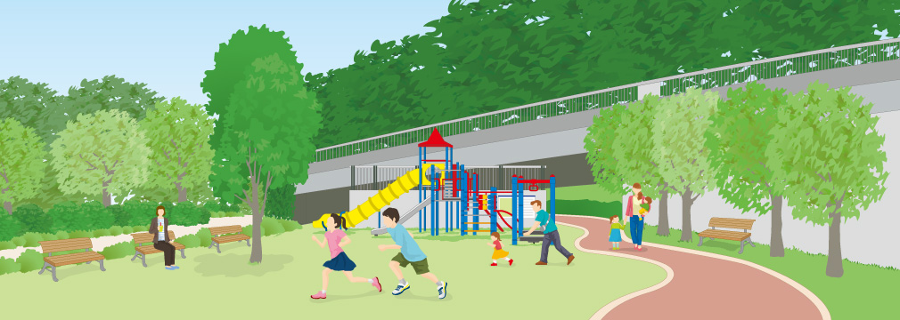 帷子公園(東広場・西広場)(岐阜県可児市)